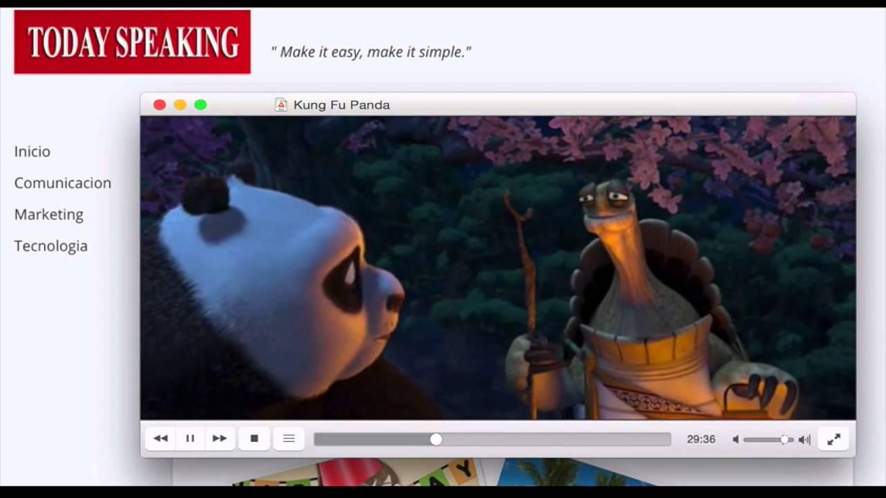 Kung Fu Panda Frase Motivación Screenflow