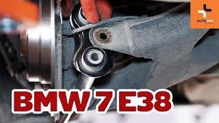 Montavimo priekyje kairė dešinė Stabdziu Apkabos Laikiklis BMW 7 (E38): nemokamas video