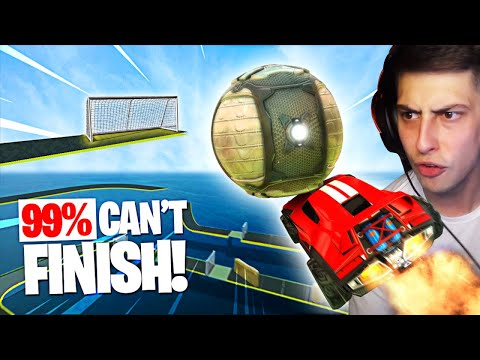 NEW RECORD!! - Rocket League Speedrun (Dribble Challenge)
