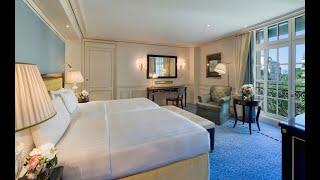 Chambre Deluxe Shangri La Hotel, Paris