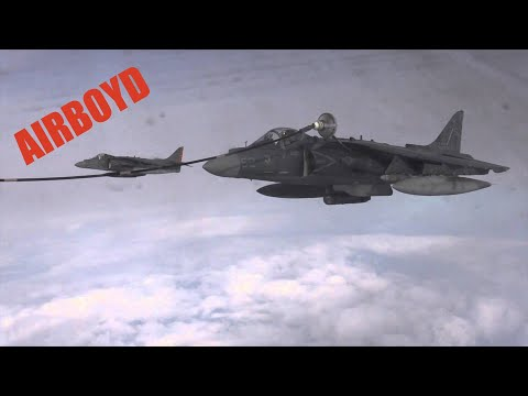 AV-8B Harrier Refueling