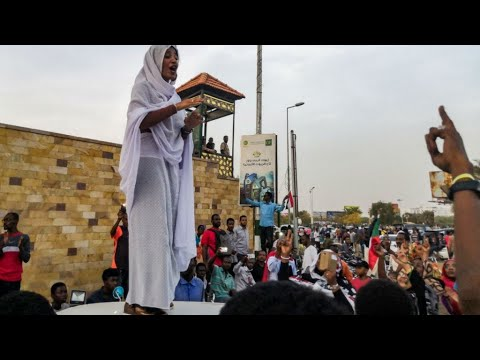 FRANCE 24 speaks to Alaa Salah, the new face of Sudan's protest movement
