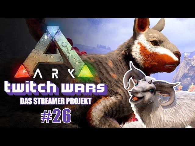 Schaf Fußball 🦖 ARK Twitch Wars #26 [Lets Play Deutsch]