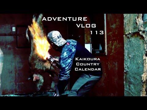 Josh James Adventure VLOG 113 Short - Kaikoura Country Calendar - Duck Liver Pate Catch n Cook