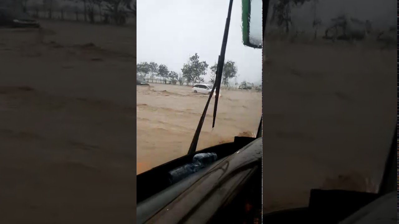 Banjir di tol Cipali Jawa barat 31 Desember 2019 // di
