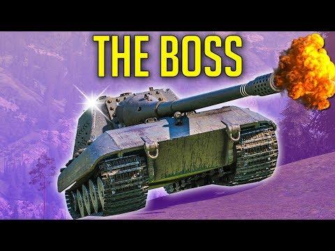 THE BOSS of World of Tanks ► JagdPanzer E-100 Gameplay thumbnail