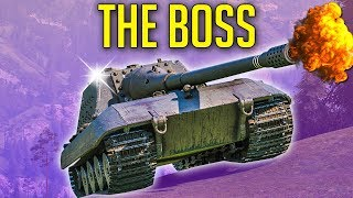 THE BOSS of World of Tanks ► JagdPanzer E-100 Gameplay