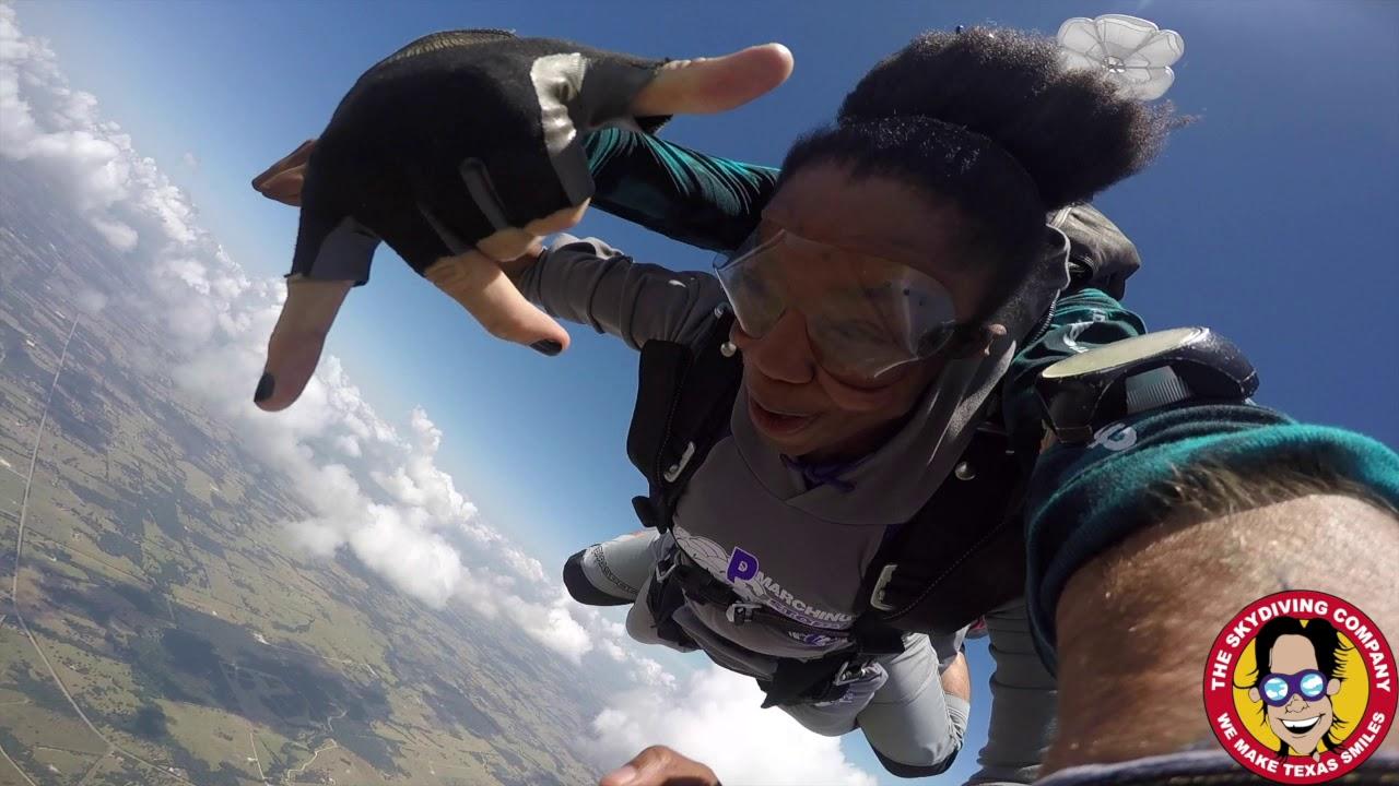 Tandem Skydiving | Reyvan From Spring, Texas