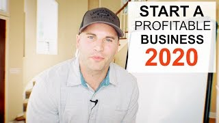 #1 BEST BUSINESS TO START FOR 2020 (NOT WHAT YOU THINK)