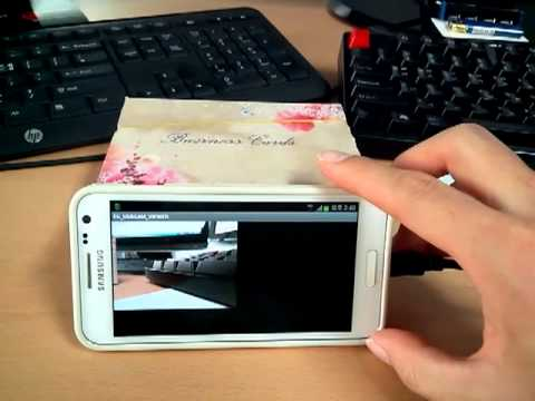 USB Camera Android Viewer(Galaxy S2) & Logitech HD Pro Webcam C920 [No  Rooting]
