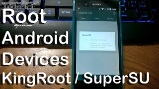 Tutorial - Root Android devices with KingRoot and replace with SuperSU