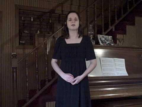 Pie Jesu, as sung by Cynthia Fernandez