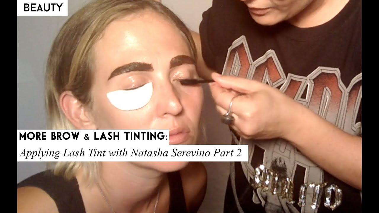 Eye Lash Brow Tinting Part 2 Youtube