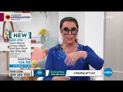 HSN | Joan Boyce Jewelry Collection. http://bit.ly/2YfGq9c