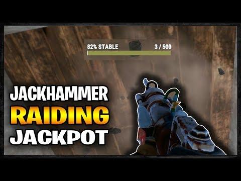 Jackhammer Raiding Into A SULFUR JACKPOT - Profit Or Fail | Rust
