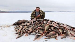 ЭТИ ОКУНЯ ЛОМАЮТ КРЮЧКИ оз Орон рыбалка в апреле 2020