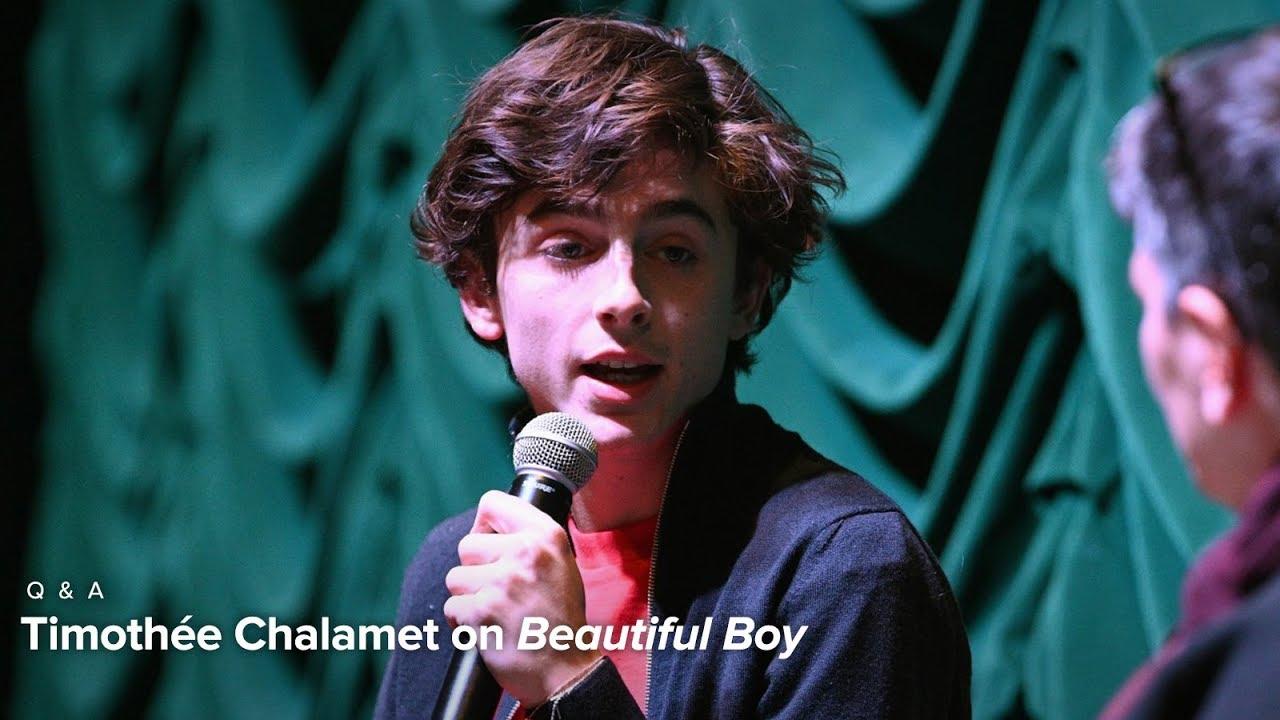 Timothée Chalamet | Beautiful Boy Q&A