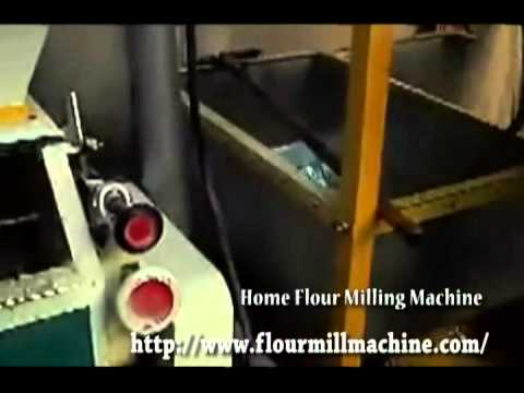 Home Flour Milling Machine, Homemade Flour Mill Machine