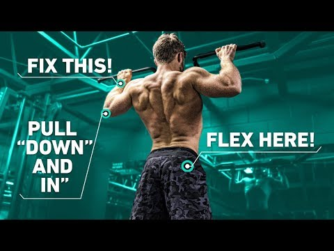 The Best Way To Do Pull Ups For A Wide Back (Optimal Training Technique)