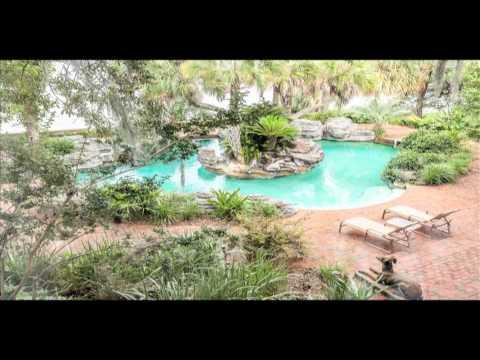 Waterfront Equestrian Estate in Panama City Beach, FL.  32408