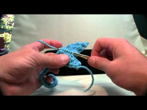 How To Crochet Popcorn Stitch Afghan Youtube