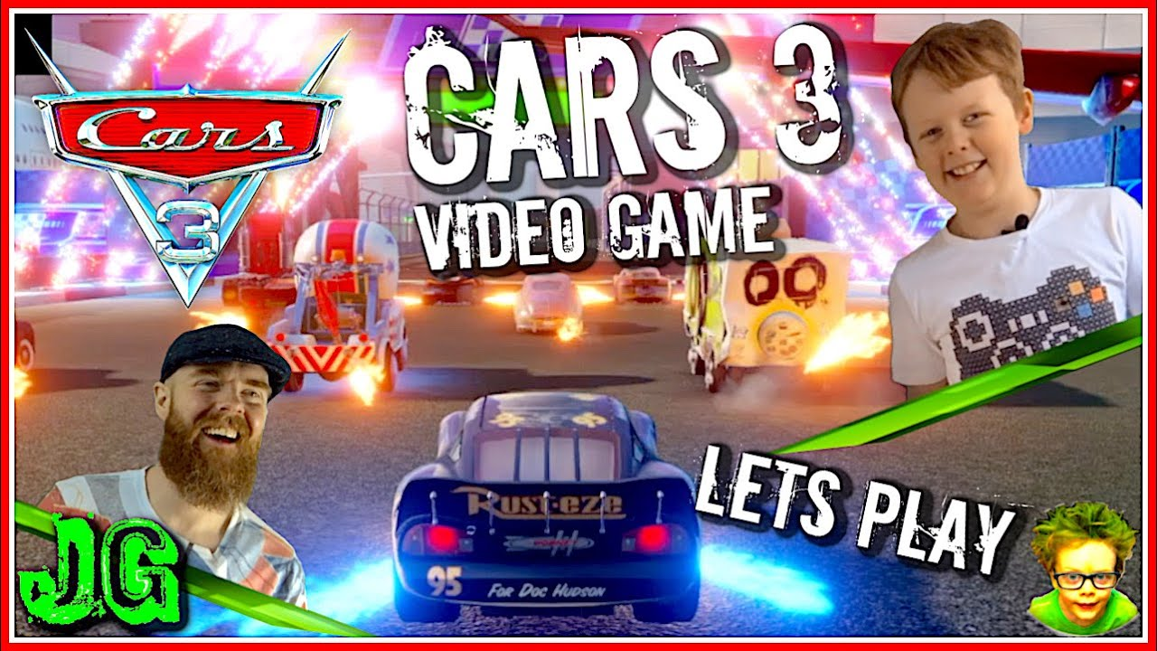 Cars 3 Video Game (Lets Play) - Kids Gaming Episode - jAmEsGaMeZ - PS4