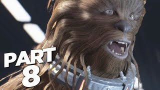 STAR WARS JEDI FALLEN ORDER Walkthrough Gameplay Part 8 - WOOKIEES (FULL GAME)