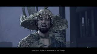 """Ghost of Tsushima - The Iron Hook: Ryuzo """"Mongols Have Captured My Best Fighters"""" Cutscene (2020)"""