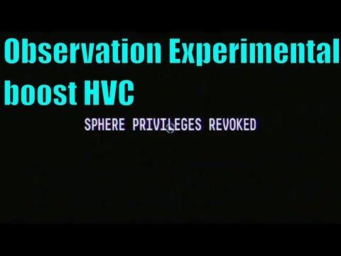 Observation - Experimental Boost HVC |