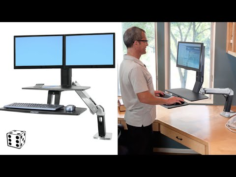 Sit/Stand Adjustable Workstations Fix Back & Neck Problems - Sitting at a Computer is Killing You!