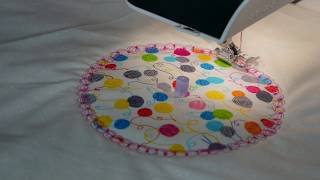 Using The Universal Circles and Straights Tool from Sew Steady