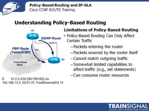 Lesson 20   Policy Based Routing and IP SLA