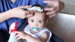 Liam's First Haircut!/ O Primeiro Corte de Cabelo do Liam!