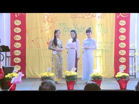 Thí Sinh Hoa Hậu  Maryland 2015 Trình Diễn Áo Dài  - Ao Dai Fashion Show