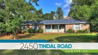 Video Tour of 2450 Tindal Rd. in Sumter, SC