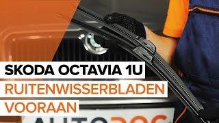 Hoe Achteraslager vervangen SKODA OCTAVIA (1U2) - video gratis online