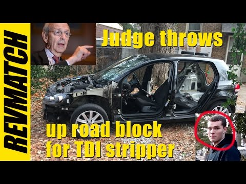 VW TDI buyback - Judge Slams Brakes On The Scammers!