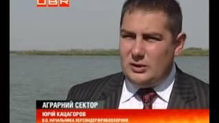 видео Рибалка в пониззі Дніпра