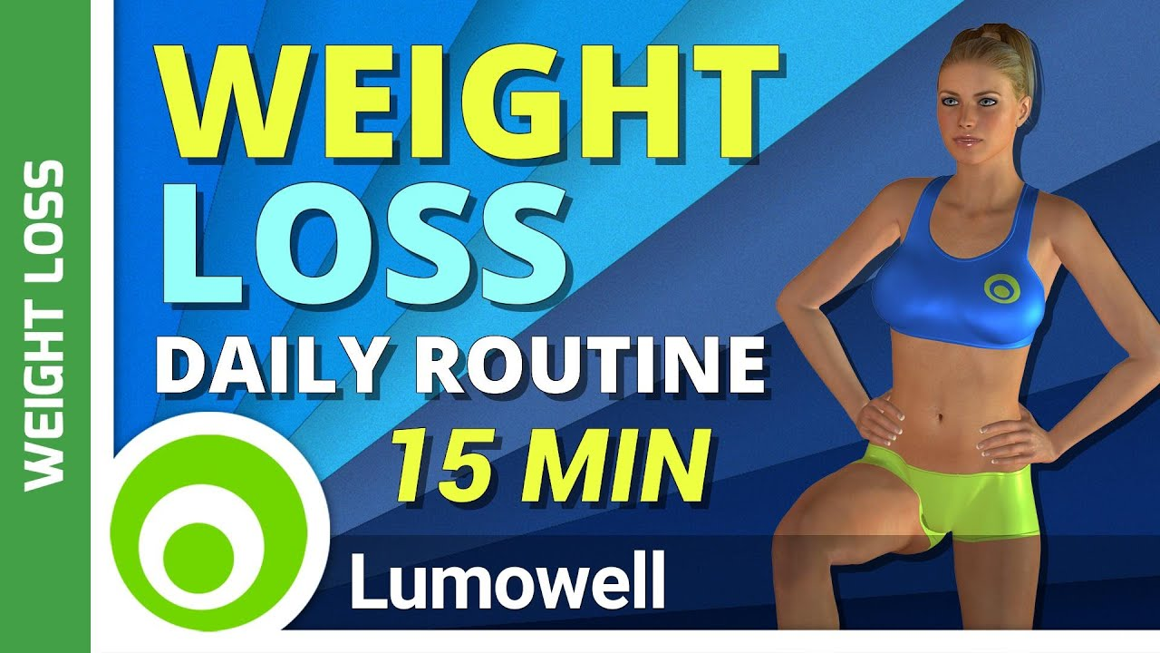 Daily Weight Loss Routine Easy Workout To Lose Weight