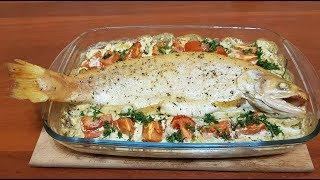 Форель с овощами. сказочно вкусный рецепт золотой рыбки