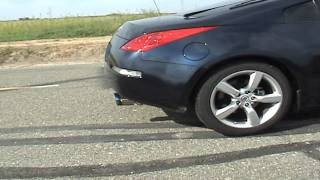 350z hks hi power ti exhaust with berk hfc