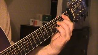 "how to play ""BLACK VELVET"" by alannah myles on acoustic guitar"