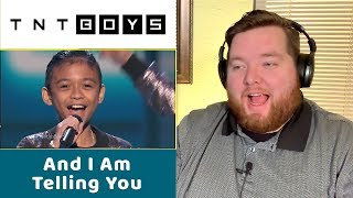 TNT Boys | And I Am Telling You | Jerod M Reaction