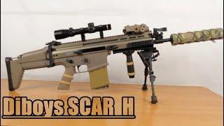 Обзор моего привода Diboys FN SCAR H .