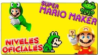 SUPER MARIO MAKER | NIVELES OFICIALES: NES REMIX (Conseguir a Mario Rana) | GAMEPLAY ESPAÑOL | WII U