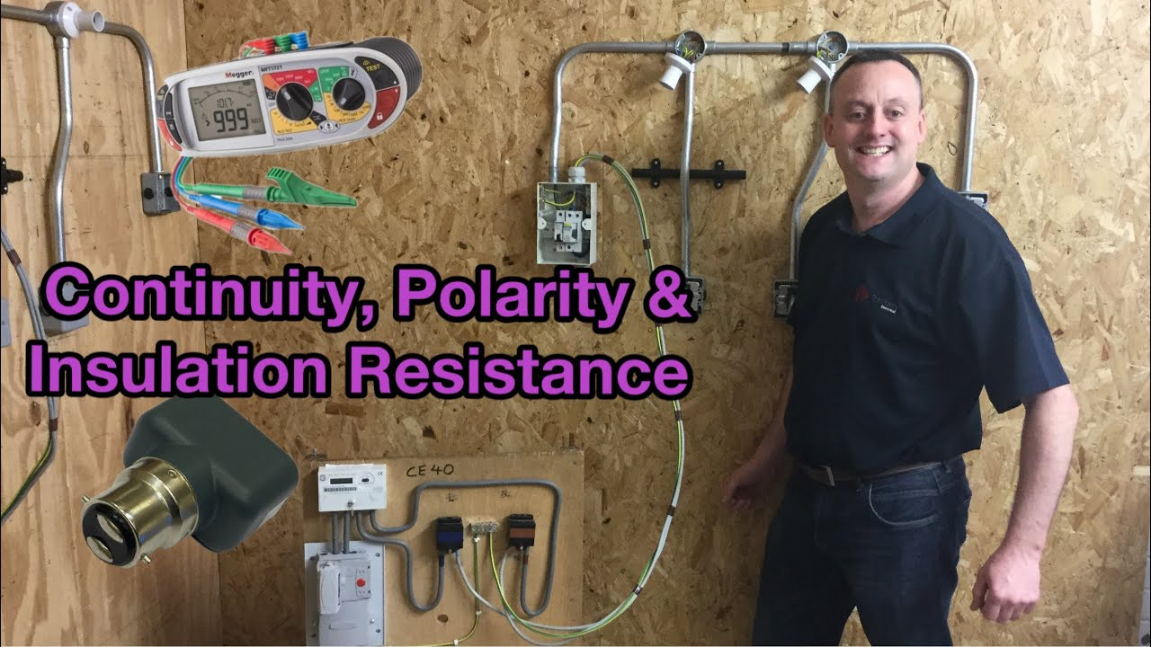 2 Way Switching of 2 Lights Tested for Continuity of CPC Polarity