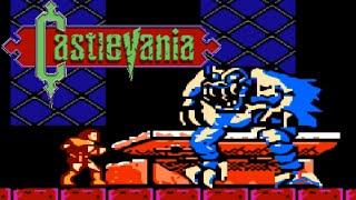 Castlevania (NES) - All Bosses - No Damage