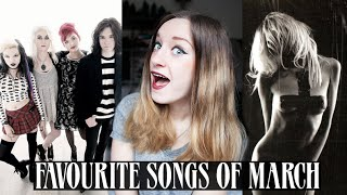TOP 10 FAVOURITE SONGS OF MARCH 2015 | Rocknroller