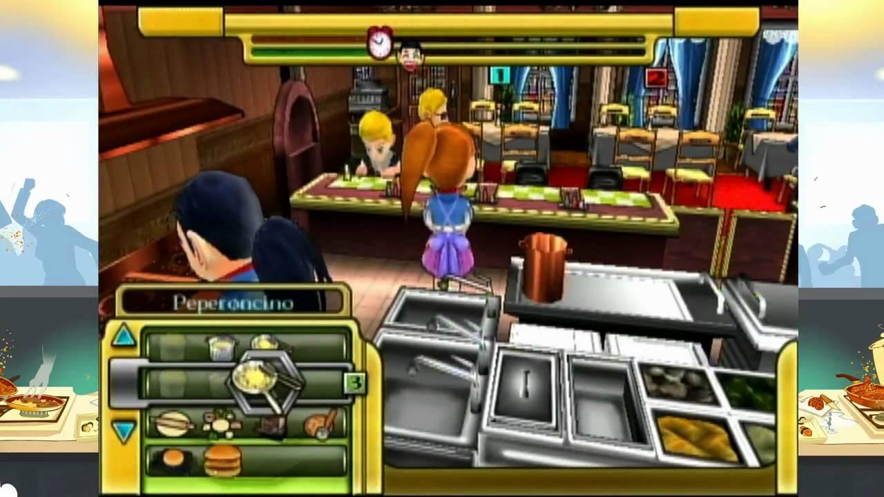 Fast Food Panic Nintendo Ds