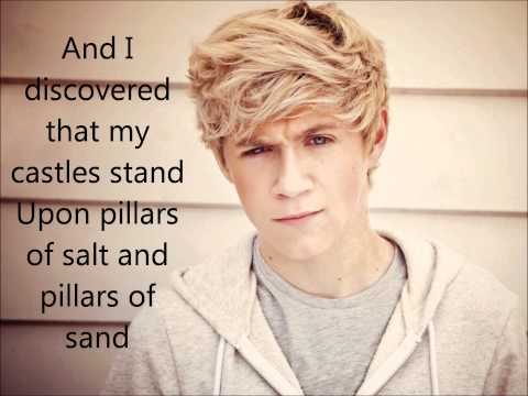 One Direction -Viva La Vida- Lyrics On Screen